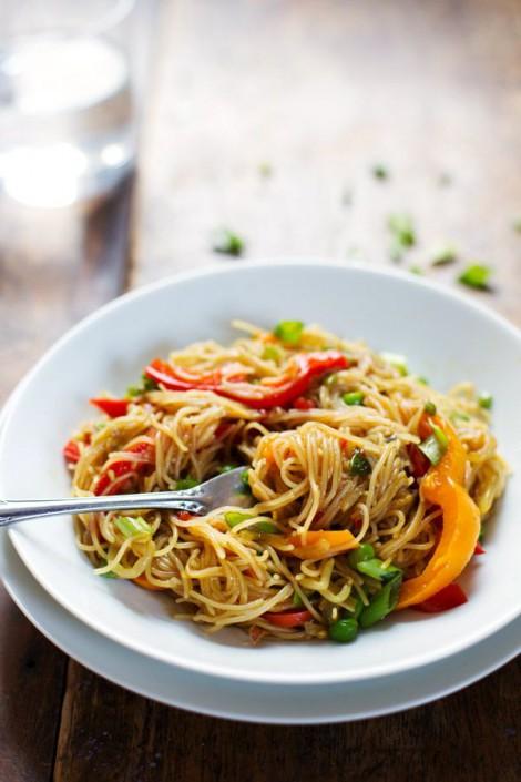 Singapore Noodles Pinterest Pinch of Yum